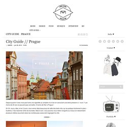 City Guide // Prague
