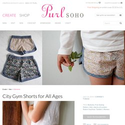 City Gym Shorts for All Ages