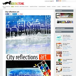City reflections art