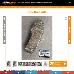 City-Sole Ads : Reflex Spray campaign