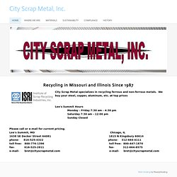 City Scrap Metal, Inc. - Home