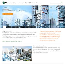 Esri CityEngine - 3D Modeling Software for Urban Environments