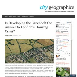 CityGeographics: Visualising urban form, dynamics and sustainability