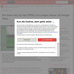 Citymapper: Die beste App für den ÖPNV