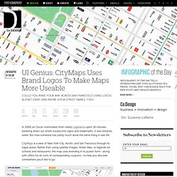 UI Genius: CityMaps Uses Brand Logos To Make Maps More Useable