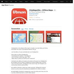 CityMaps2Go – Offline Maps on the AppStore
