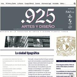 Revista .925 Artes y Diseño