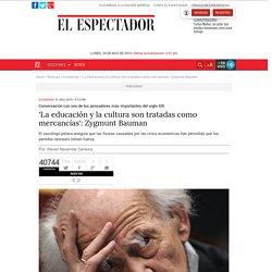 'Es posible la ciudadanía global': Zygmunt Bauman