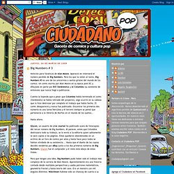 CIUDADANO POP: Big Numbers # 3