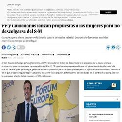 PP y Ciudadanos lanzan propuestas a las mujeres para no descolgarse del 8-M