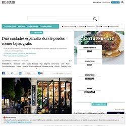 Diez ciudades españolas donde puedes comer tapas gratis
