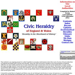 CIVIC HERALDRY OF ENGLAND AND WALES