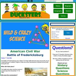 Civil War: Battle of Fredericksburg