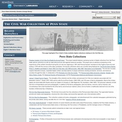 The Civil War Collection at Penn State