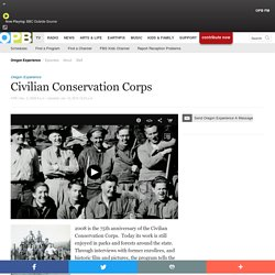 Civilian Conservation Corps . TV