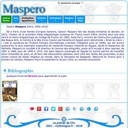 Civilisation égyptienne : Gaston Maspero
