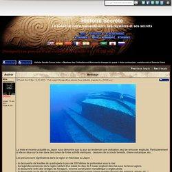 [Yonaguni] Les preuves d'une civilisation engloutie il y a 12 000 ans !