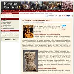 La civilisation Etrusque : origines et histoire