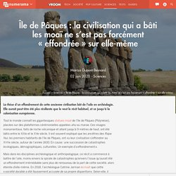 Île de Pâques : la civilisation qui a bâti les moaï ne s'est pas forcément « effondrée » sur elle-même