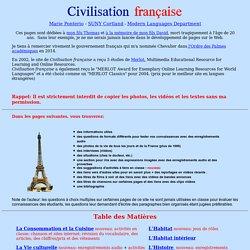 Civilisation française