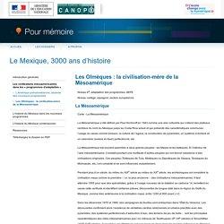 Les Olmèques : la civilisation-mère de la Mésoamériquedu dossier «Le Mexique, 3000 ans d'histoire»-Pour mémoire-CNDP