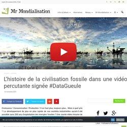 L'histoire de la civilisation fossile dans une vidéo percutante signée #DataGueule