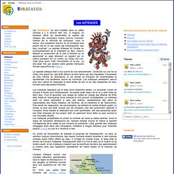 Civilisation précolombienne: les AZTEQUES