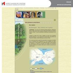 Les Premiers Peuples du Canada - Nos origines: La Béringie