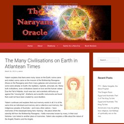 The Many Civilisations on Earth in Atlantean Times – The Mystery School