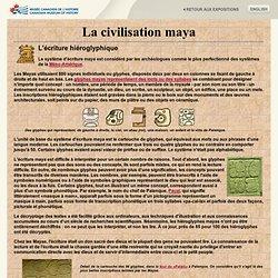 Le mystère des Mayas - Ecriture hiéroglyphique