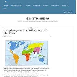 Les plus grandes civilisations de l'histoire - S'instruire.fr