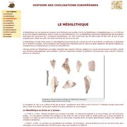 le mésolithique