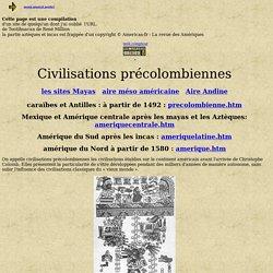 CIVILISATIONS PRECOLOMBIENNES : HISTOIRE