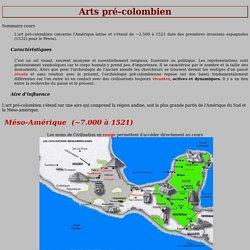 Arts pré-colombien - Civilisations Olméque et de Téotihuacan