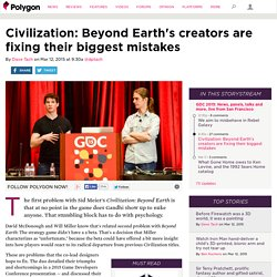 Civilization: Beyond Earth's creators are fixing their biggest mistakes
