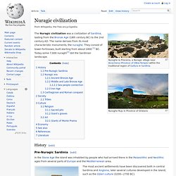 Nuragic civilization