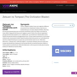 Regarder Zetsuen no Tempest (The Civilization Blaster) en HD streaming gratuitement en VOSTFR et VF