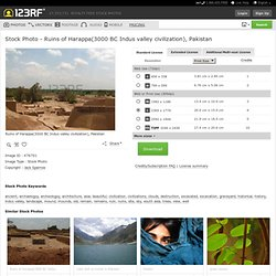 Ruins Of Harappa(3000 BC Indus Valley Civilization), Pakistan Royalty Free Stock Photo, Pictures, Images And Stock Photography. Image 476701.