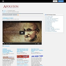 Apolyton Civilization Site | Comprehensive Civilization-Related