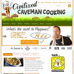 Civilized Caveman - Gluten Free Paleo Recipes