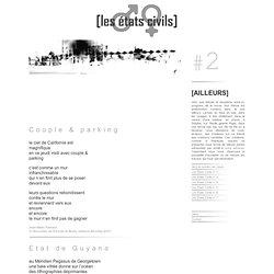 LES ETATS CIVILS, numero 2 : textes contemporains, poesie, sons