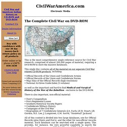 CivilWarAmerica.com electronic media