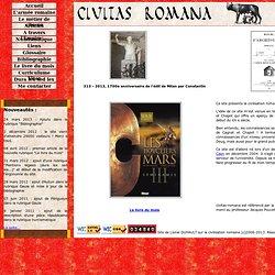 civitas romana : le site de la civilisation romaine (C) L. Duhault