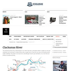Clackamas River - Steelhead University