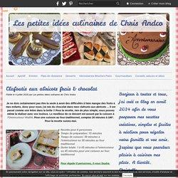 Clafoutis aux abricots frais & chocolat - Les petites idées culinaires de Chris Andco