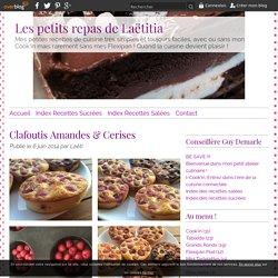 Clafoutis Amandes & Cerises - RECETTE FLEXIPAN GUY DEMARLE - Conseillère Guy Demarle dans le Vaucluse (84)