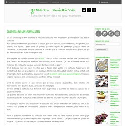 Clafoutis #vegan #sansgluten