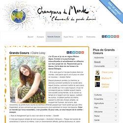 Claire Loisy - Changeurs de Monde