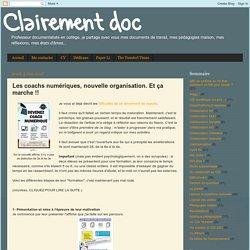 Pommereau - Les coachs numériques, nouvelle organisation. Et ça marche !!