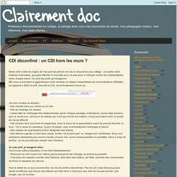 CDI déconfiné : un CDI hors les murs ?